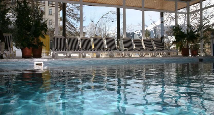 Hotel Sunstar Wengen Switzerland - Indoor pool