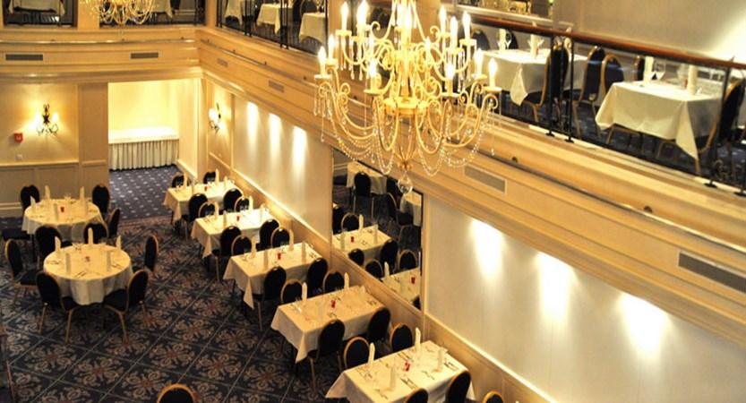 Grindelwald Romantik hotel in Schweizerhof, Switzerland, Dining Room