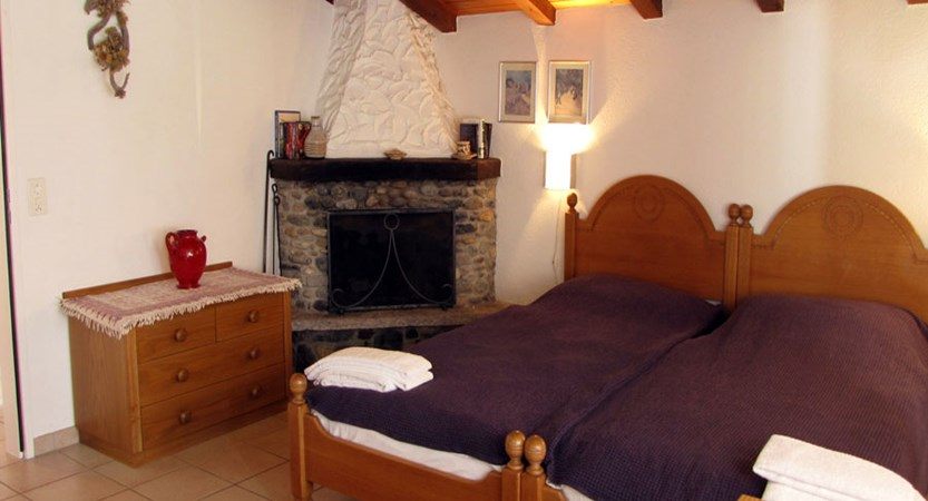 Allalin Apartments, Saas-Fee, Switzerland - Standard bedroom
