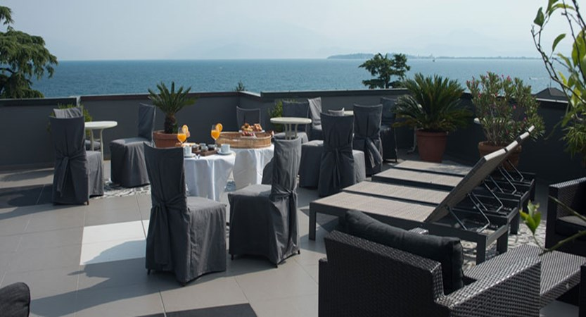 Piccola Vela Hotel, Desenzano, Lake Garda, Italy - Beautiful views from the elegant rooftop terrace.jpg