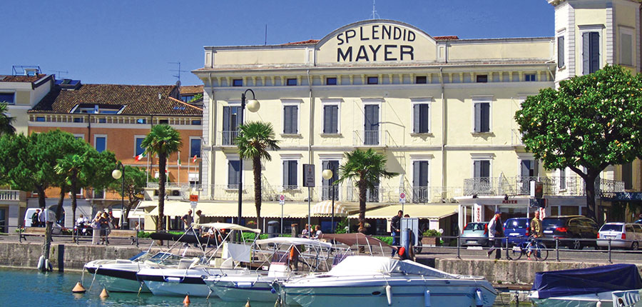 Hotel Mayer, Desenzano, Lake Garda, Italy - exterior.JPG
