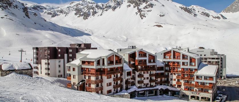 Hameau du borsat apartments eterior
