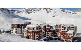 Hameau De Borsat Apartments, View from the piste1