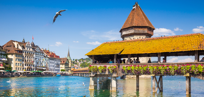 Lucerne, Lake view