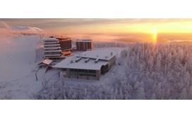 Levi Hotel Panorama aerial view