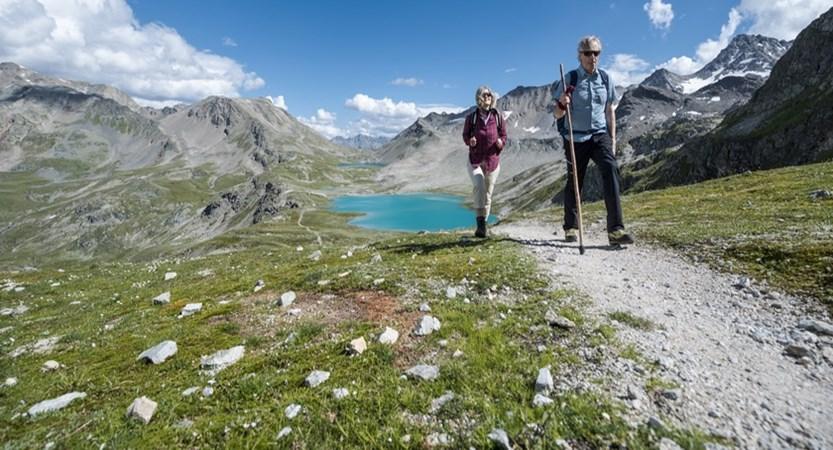 Switzerland, Graubünden, Davos, Hiking
