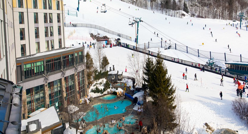Fairmont Tremblant , outdoor pool and ski area.jpg