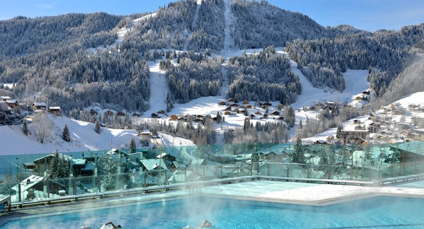 La Clusaz - Community outdoor pool