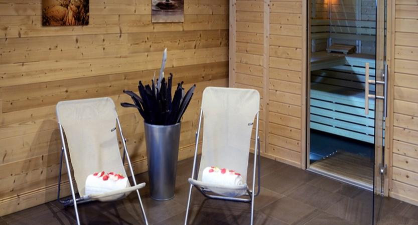 Chalets contemporains sauna