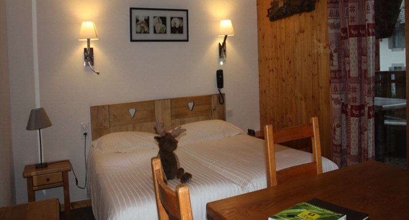 Double bedroom in the main hotel