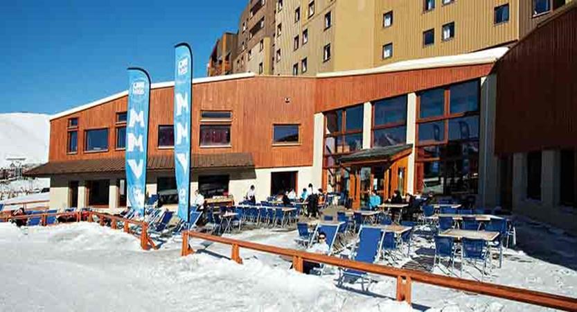 Hotel club les bergers - terrace
