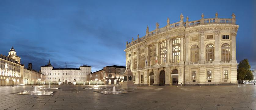 Turin Piazza del Castello