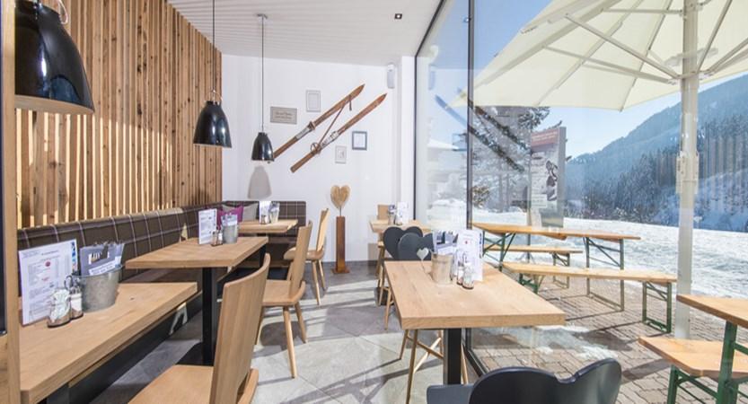 Alpine resort, zell am see, indoor dining