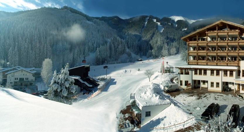 Alpine resort, zell am see, exterior slopes