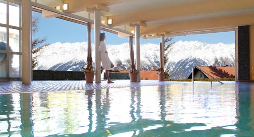 Sporthotel Igls Austria indoor pool snow