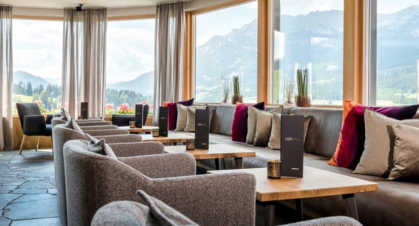 Hotel Der Baer, Ellmau, Austria, Dining area views.jpg