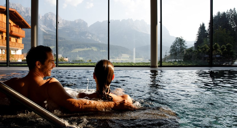 Hotel Der Baer, Ellmau, Austria, Indoor Swimming pool