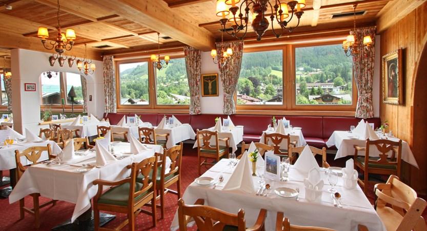Hotel Tiefenbrunner, Kitzbühel, Austria Restaurant