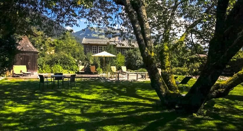 Hotel Tiefenbrunner, Kitzbühel, Austria Garden area