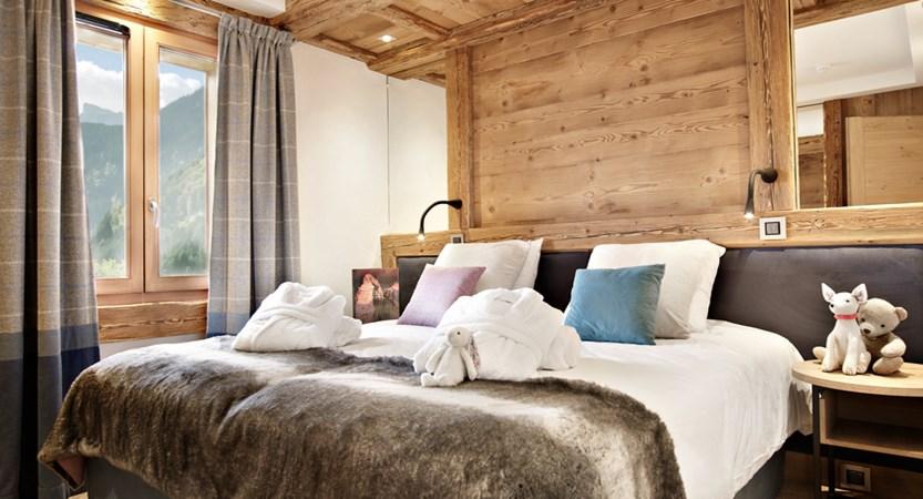 Alexane Apartments Samoens Bedroom