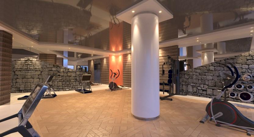Alexane Apartments Samoens Gym