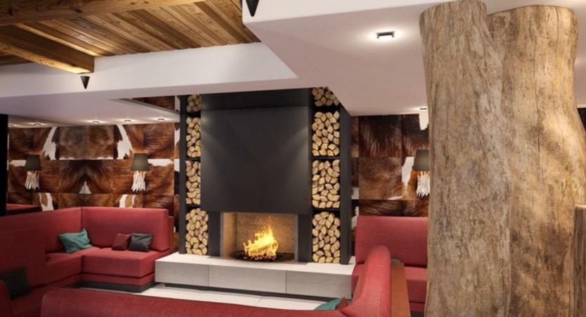 Alexane Apartments Samoens Fireplace