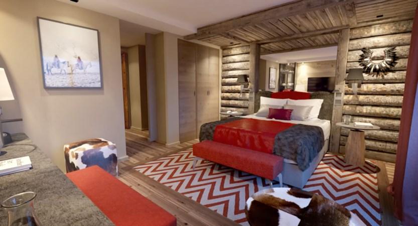 Alexane Apartments Samoens Bedroom (4)