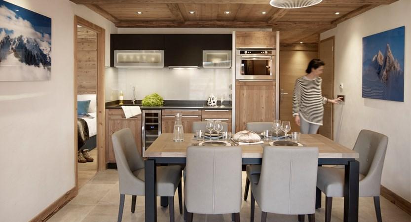 Alexane Apartments Samoens Dining