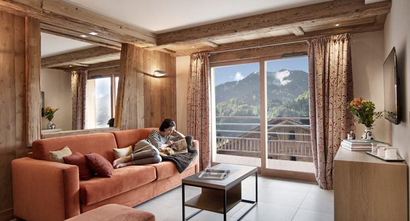 Alexane Apartments Samoens Living Area