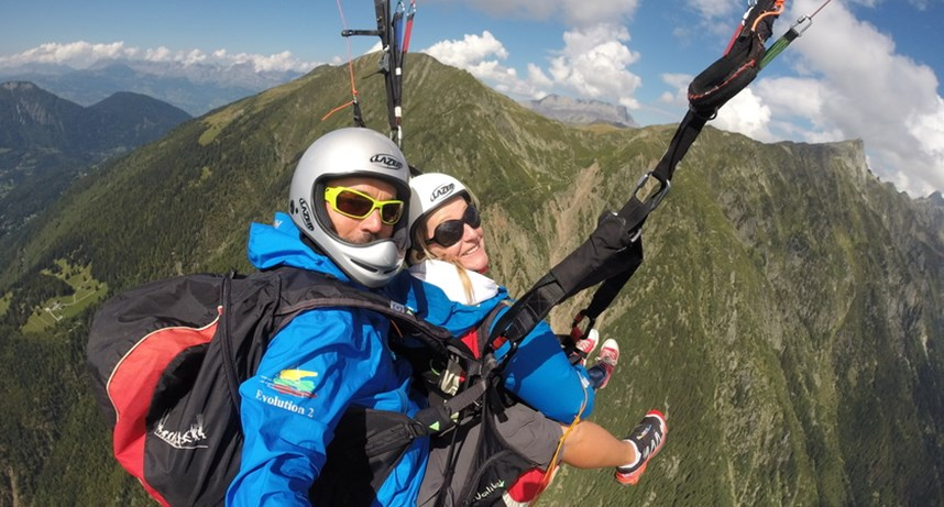 Parapenting Flights (with instructor)