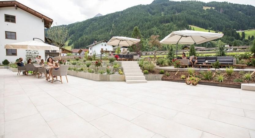 Alpenhotel Kindl, Neustift, Austria -  garden area