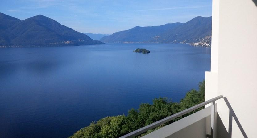 Lake view, Hotel Casa Berno Ascona Switzerland