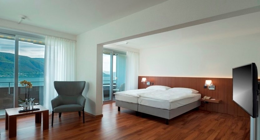 Junior Suite, Hotel Casa Berno Ascona Switzerland