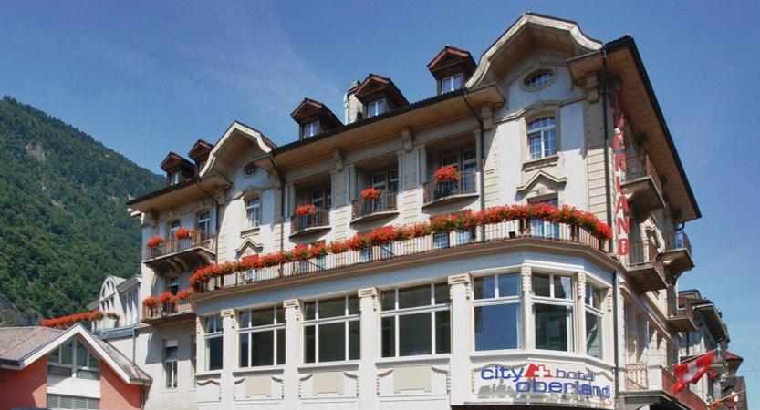 Hotele xterior day City Hotel Oberland Interlaken Switzerland