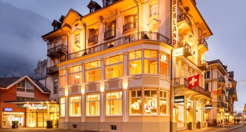 exteiror City Hotel Oberland Interlaken Switzerland