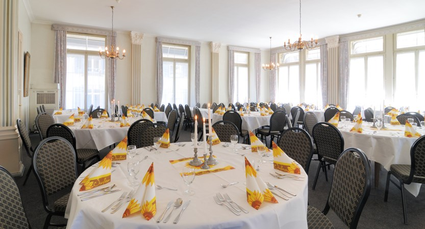 dining area City Hotel Oberland Interlaken Switzerland