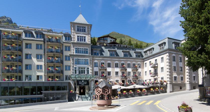 Hotel Seehof Davos Switzerland EXTERIOR SUMMER