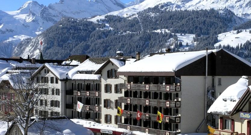 Hotel Sunstar Wengen Switzerland - Exterior