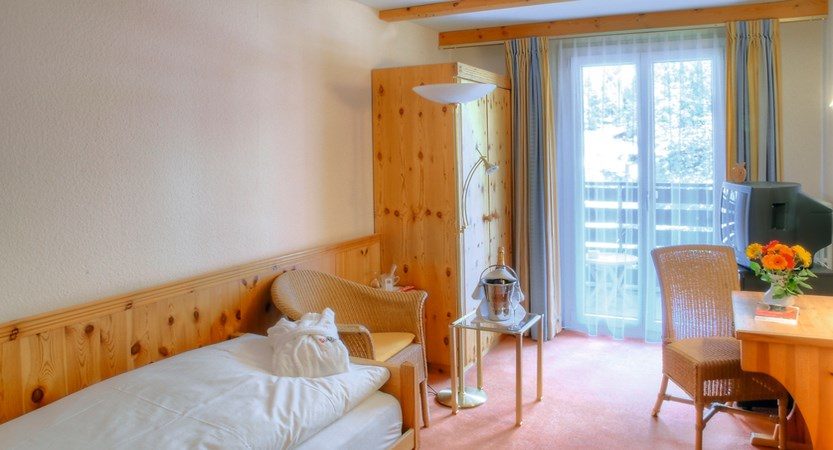 Hotel Sunstar Wengen Switzerland - valley view standard single
