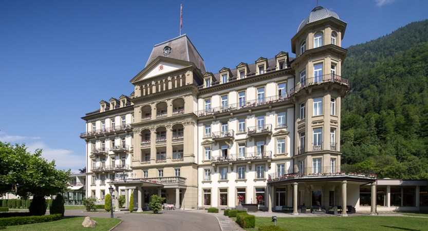 Lindner Grand Hotel Beau Rivage, Interlaken, Bernese Oberland, Switzerland exterior 2