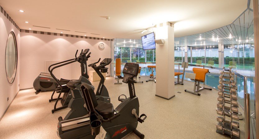 Lindner Grand Hotel Beau Rivage, Interlaken, Bernese Oberland, Switzerland Fitness area.jpg