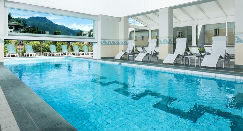 Hotel Belvedere, Locarno, Ticino, Switzerland - swimming pool