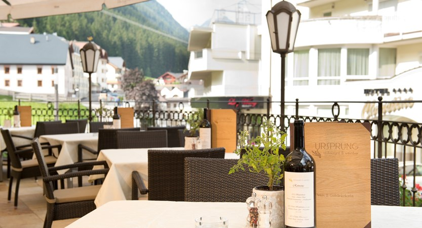 Hotel Post, Ischgl, Austria - Terrace