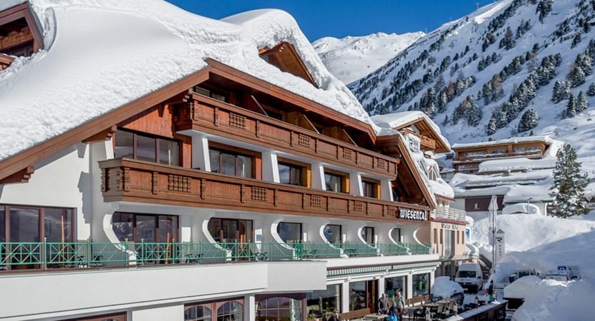 Hotel Wiesental Obergurgl Austria Hotel Exterior Winter