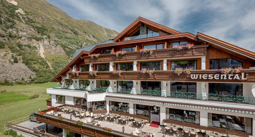 Hotel Wiesental, Obergurgl, Austria - Hotel exterior