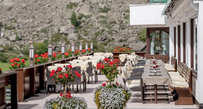 Hotel Wiesental, Obergurgl, Austria - terrace