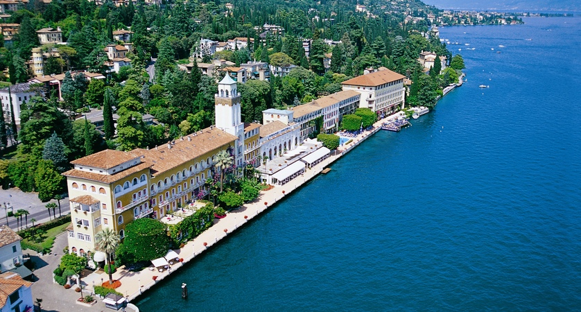 Grand Hotel, Gardone Riviera, Aerial.JPG