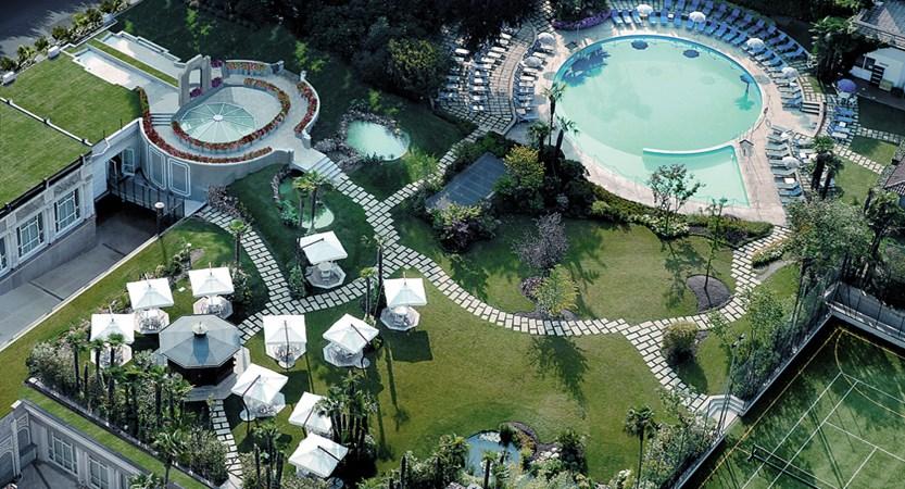 Hotel Regina Palace, Stresa, Lake Maggiore, Italy - Garden and pool aerial.jpeg