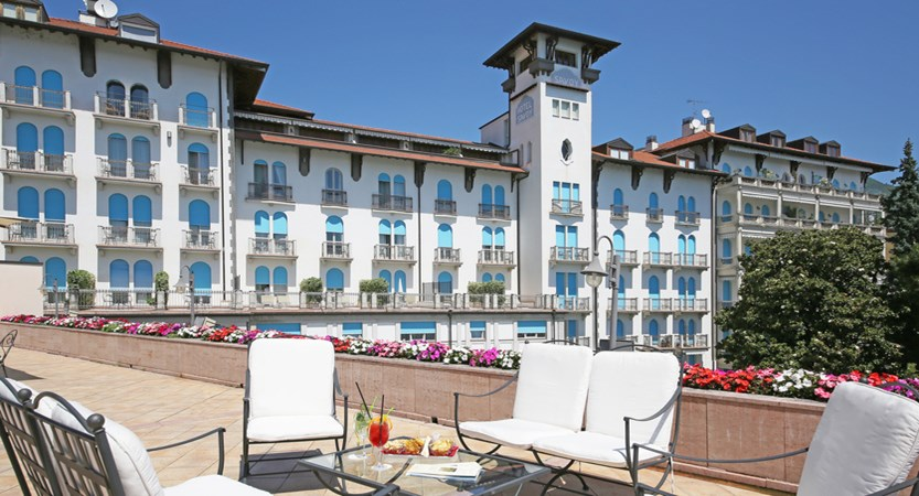Hotel Savoy Palace, Gardone Riviera, Lake Garda, Italy - exterior from terrace.JPG
