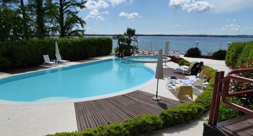 Hotel Continental, Sirmione, Lake Garda, Italy - Pool.jpg